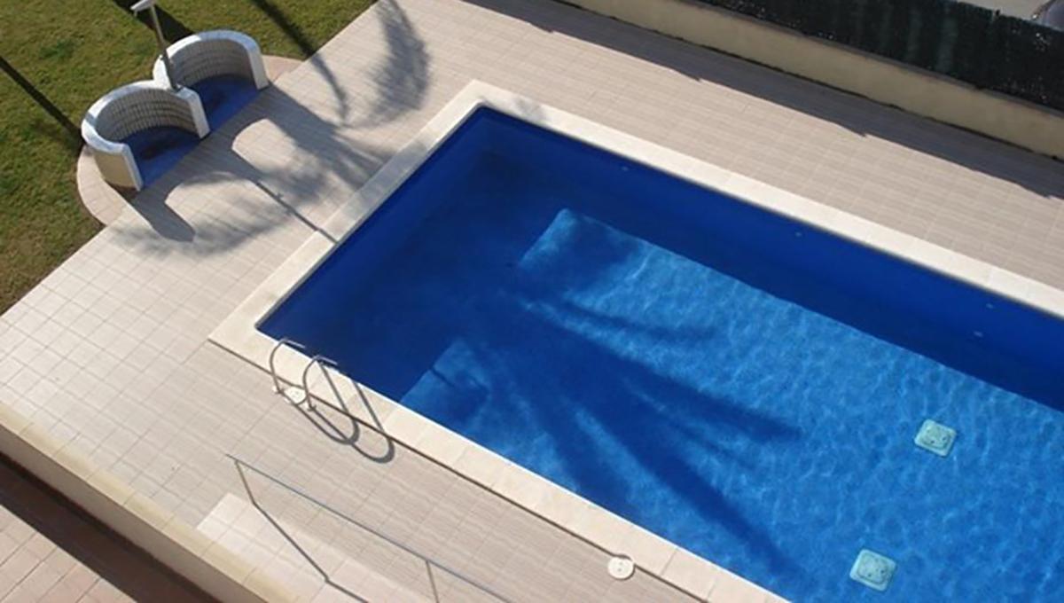 Quermanço vista piscina